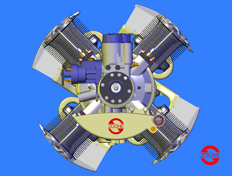 Zoche aero diesel engine