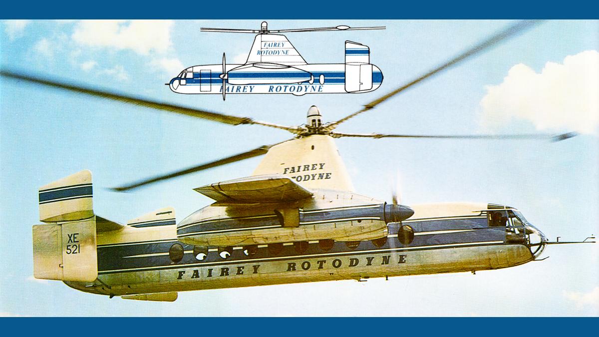 Fairey Rotodyne Rotorcraft