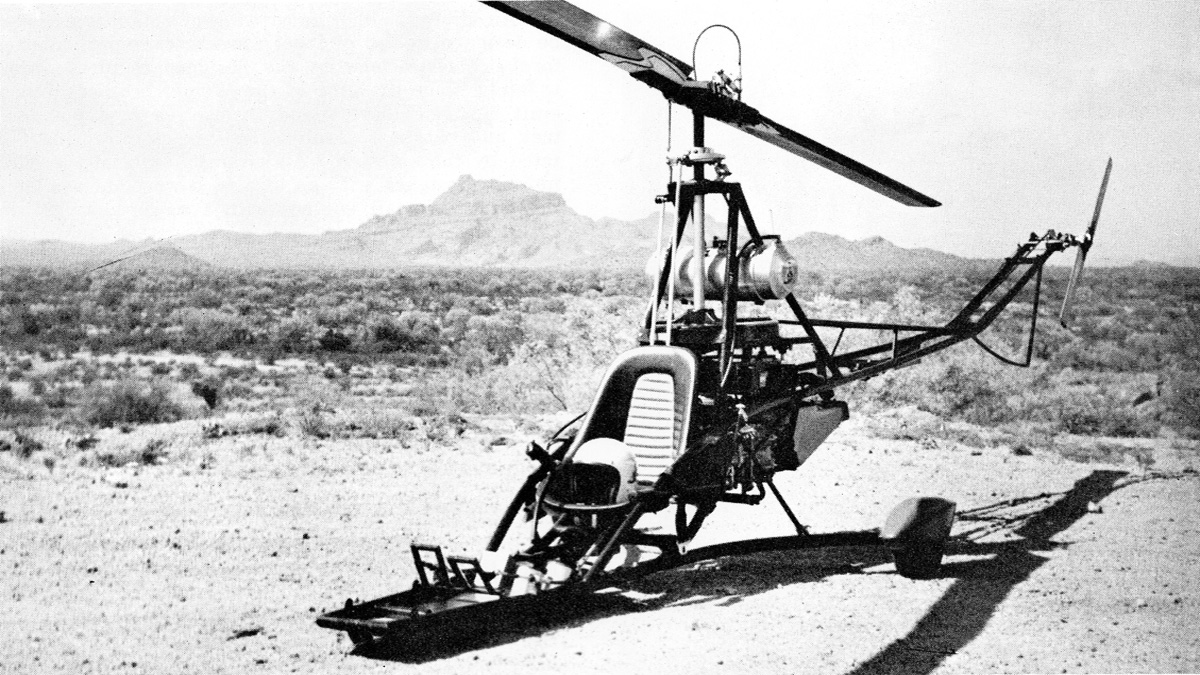 The Birth Of Rotorway Scorpion Helicopters