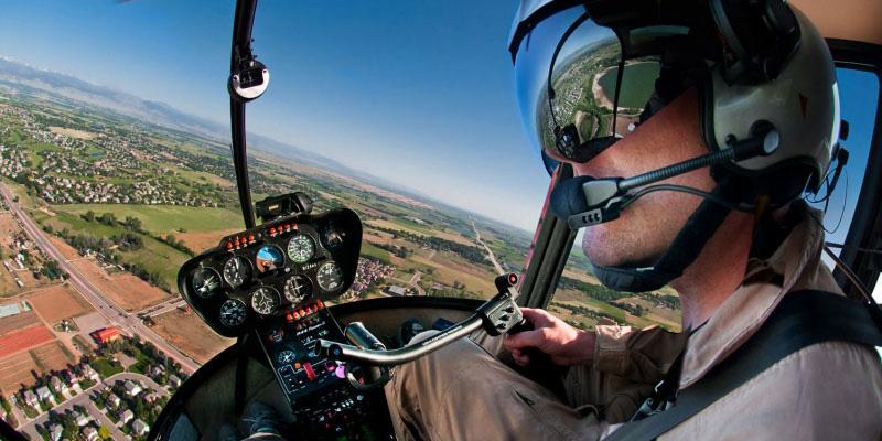 Homebuilt Helicopter pilot training