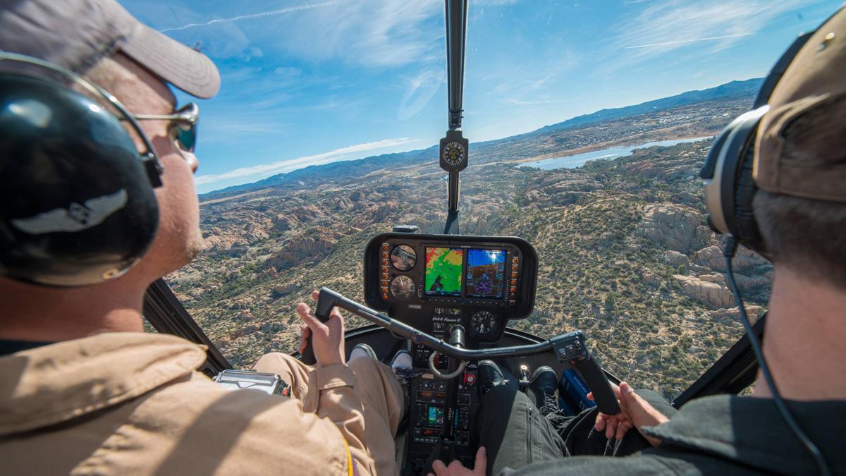 Homebuilt Helicopters & Pilot Licences