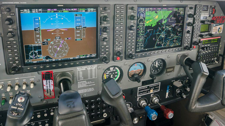 IFR Cessna 182 Instrument Panel