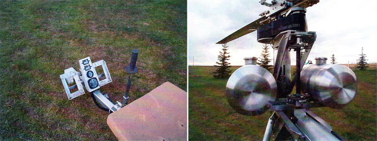 Aluminum DIY helicopter Mosquito