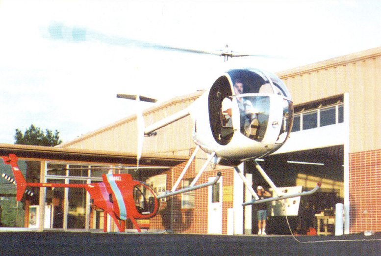 Brian Thomas hovering mini 500 helicopter