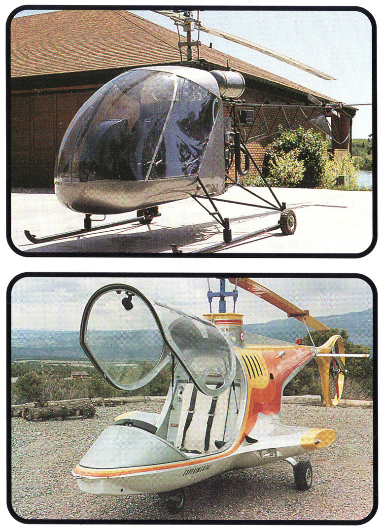Excell kit helicopter prototype composite helicopter