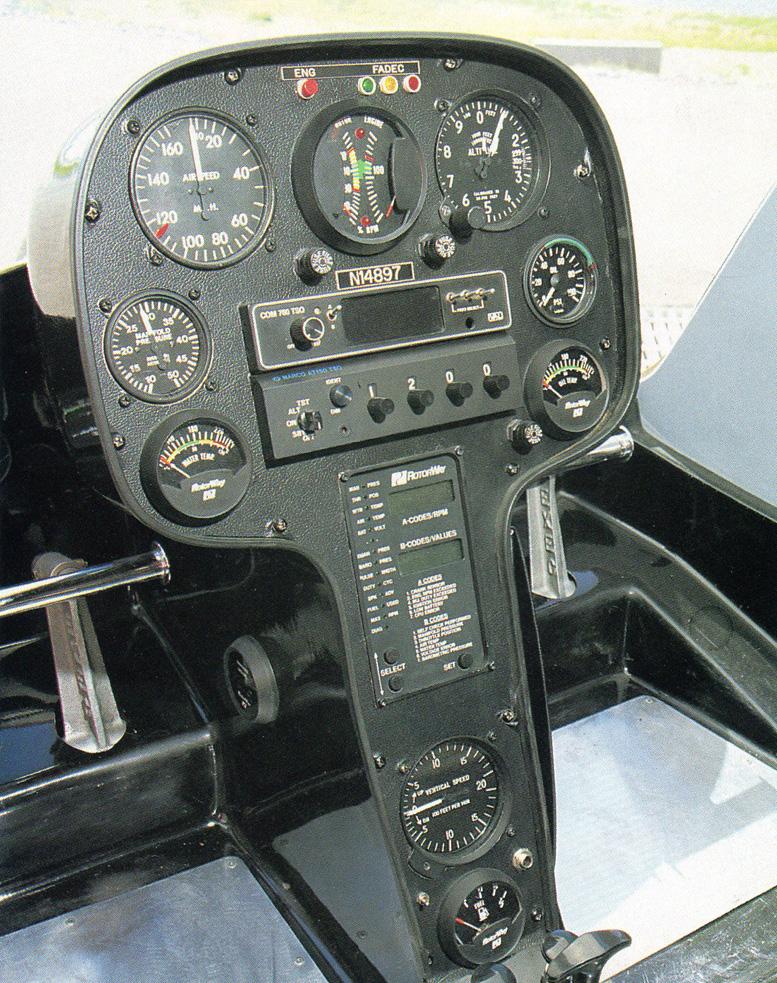 Rotorway exec 162f instrument pod