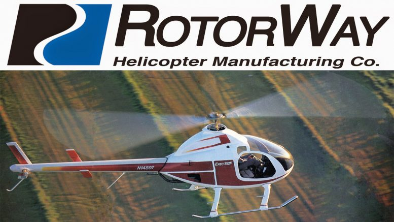 Rotorway exec 162f kit helicopter