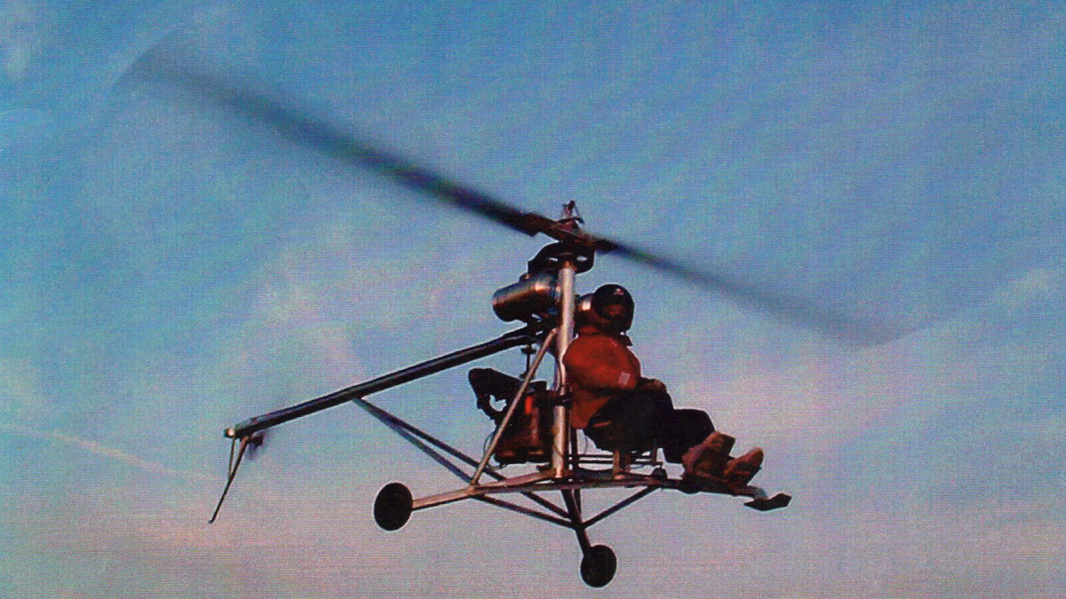 The Mosquito Ultralight Helicopter
