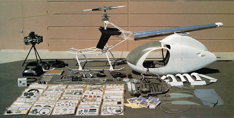 helicopter kit parts exec
