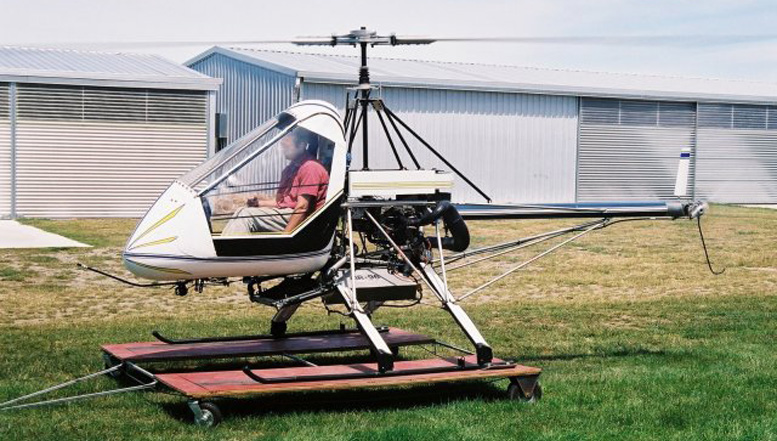 homebuilt helicopter skytwister