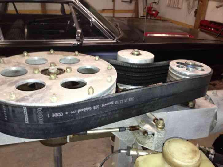 kit helicopter v-belt drive system
