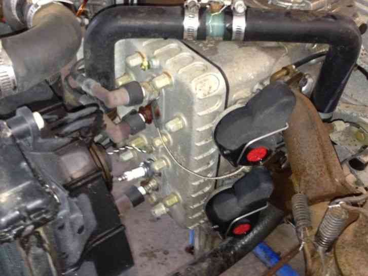 two stroke 618 helicopter engine