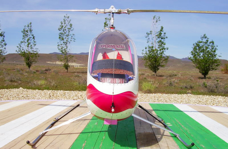 Daniel MacPherson homebuilt EA 81 subaru helicopter