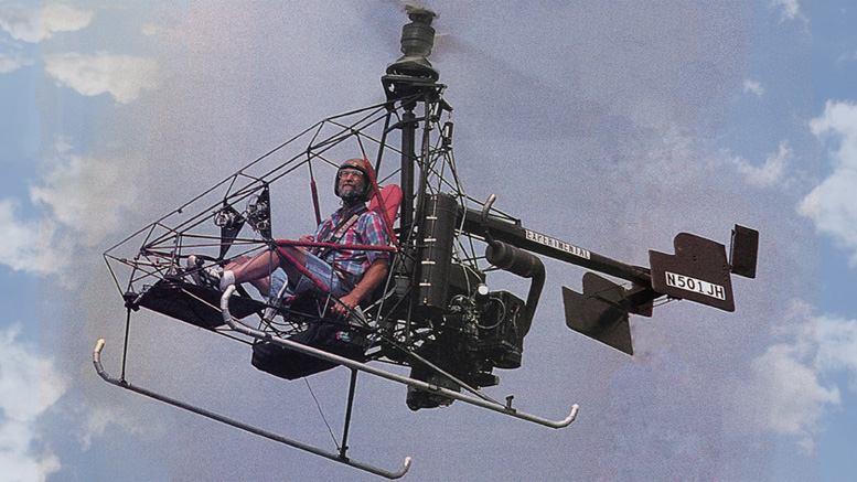 Jack Nolan Flying 51 HJ coaxial helicopter