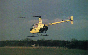 R22 basic helicopter training