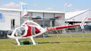 Rotorway helicopter display airshow