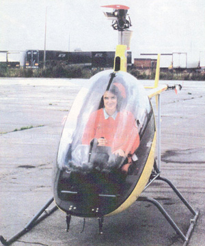 compact comfortable kit helicopter