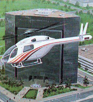 early rendering mdx civillian helicopter