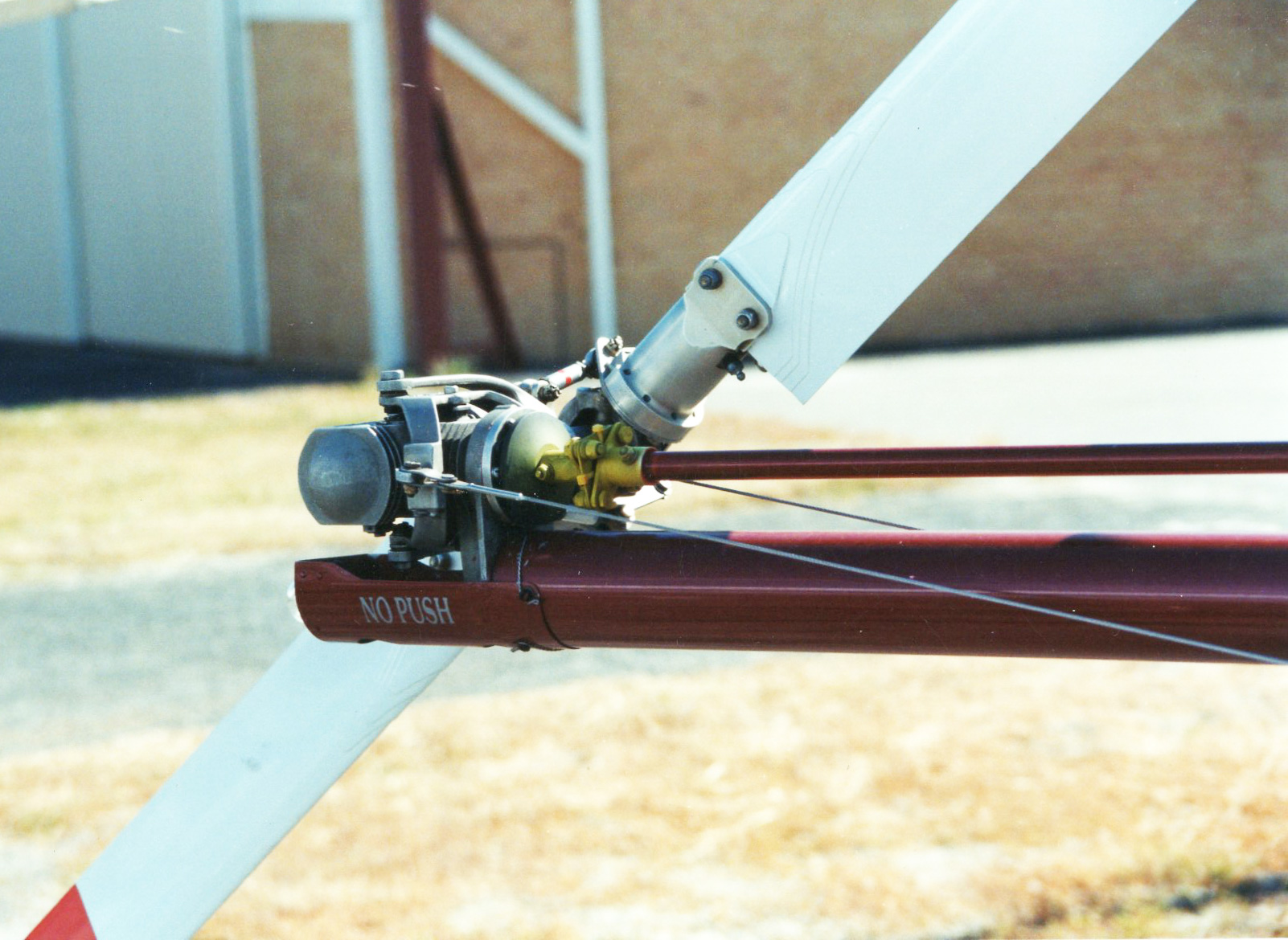 enstrom helicopter tail rotor