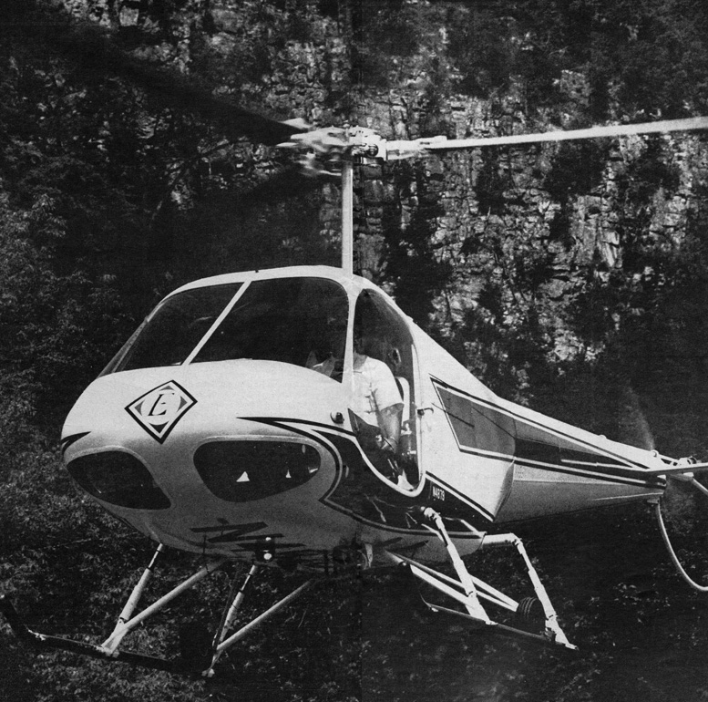 first enstrom f-28a helicopter
