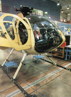hughes 500 helicopter improvements