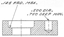 machining drawing
