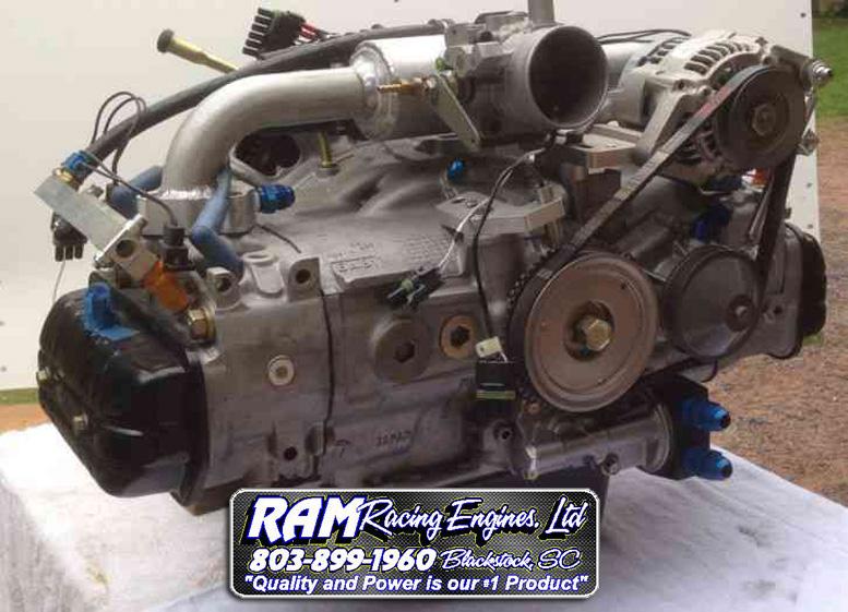 ram racing performance subaru engine