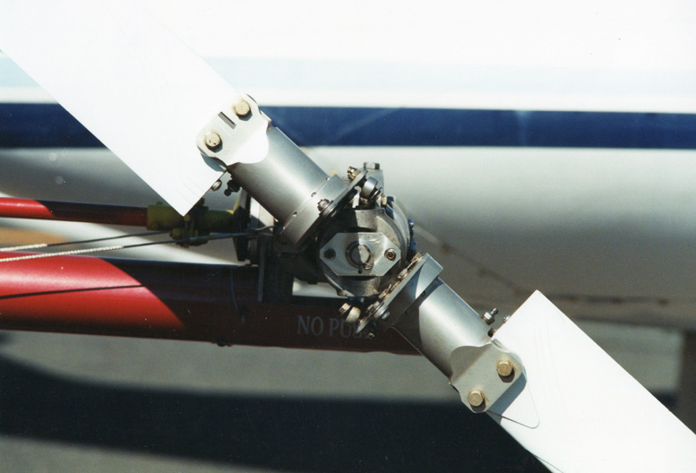 teetering helicopter tailrotor blades