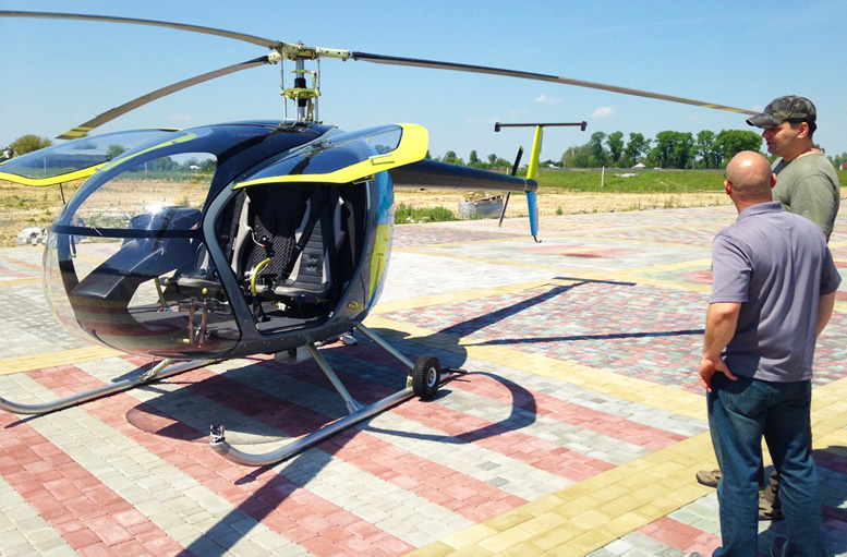 three seat helicopter kit