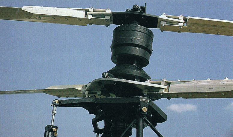twin rotor coaxial helicopter rotor head