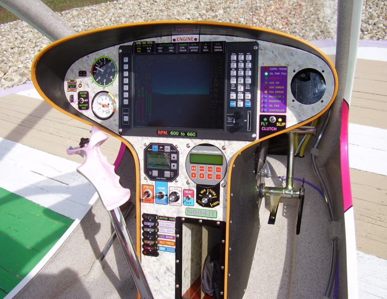 windfire helicopter glass instrument panel