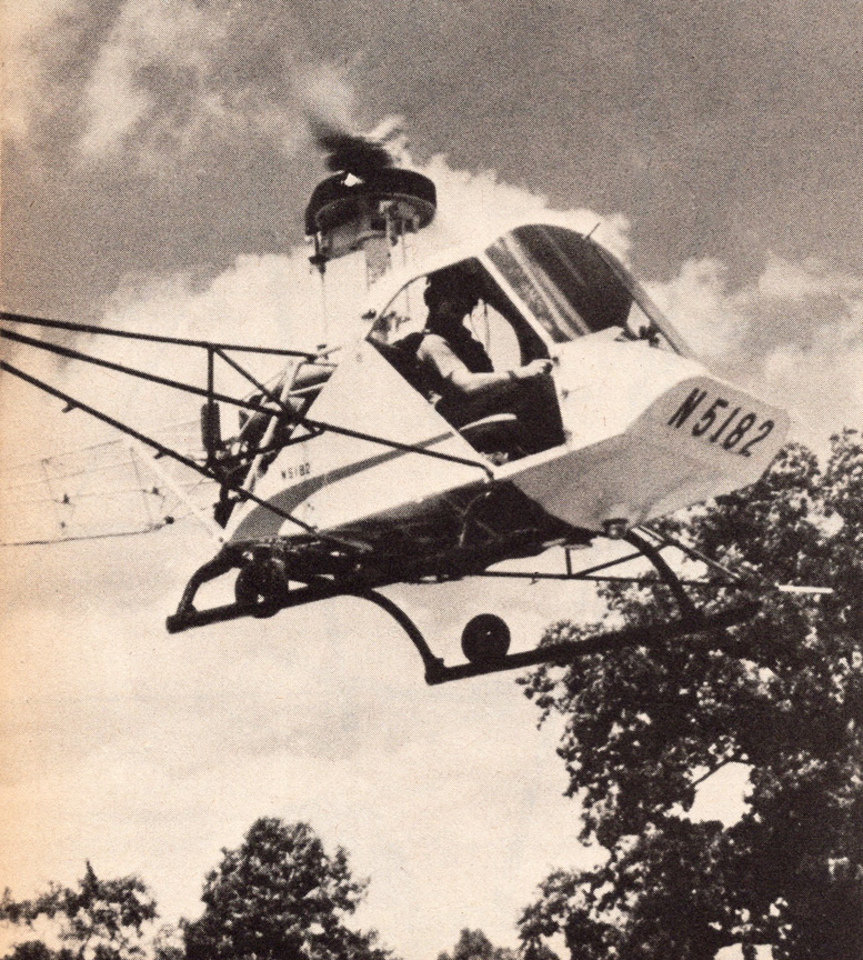 180 hp lycoming Scheutzow model b two place utility helicopter