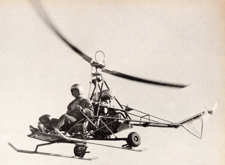 BJ Schramm single seat scorpion helicopter mojave desert