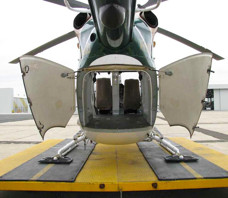 BK 117 helicopter cargo option