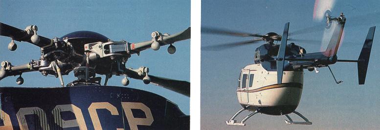 BK main rotor head