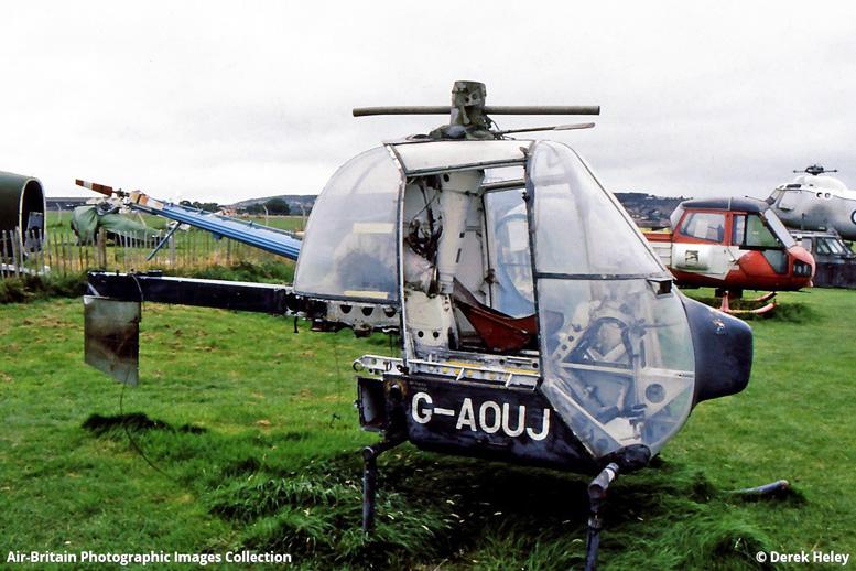 Derek Heley Fairey Helicopter
