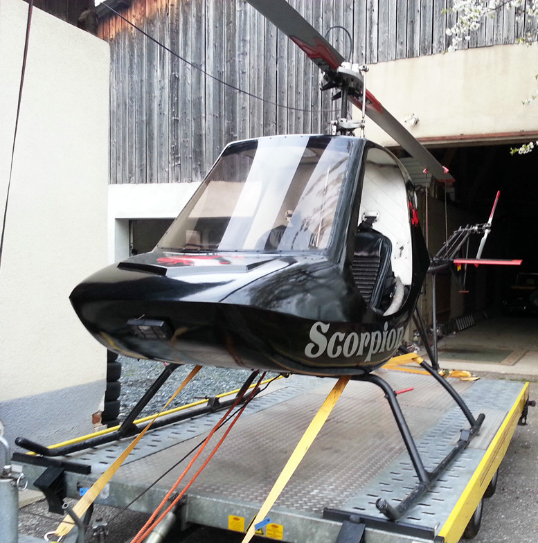 Experimental Scorpion 133 helicopter