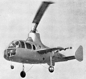 Fairey Jet Gyrodyne gyroplane