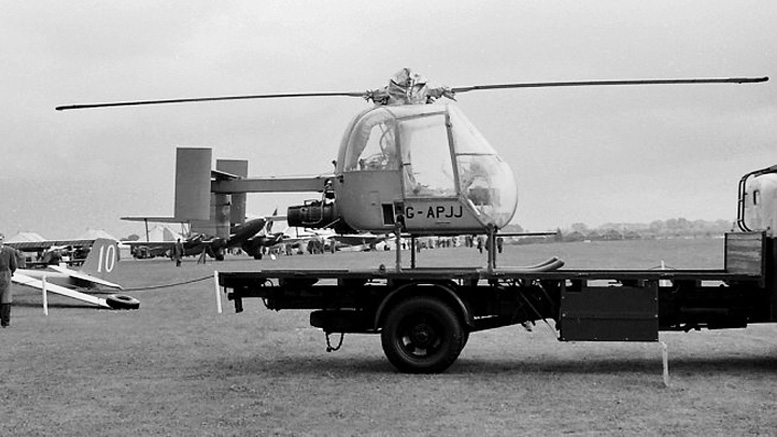 Fairey-Ultra-light-helicopter Tony Clarke Collection