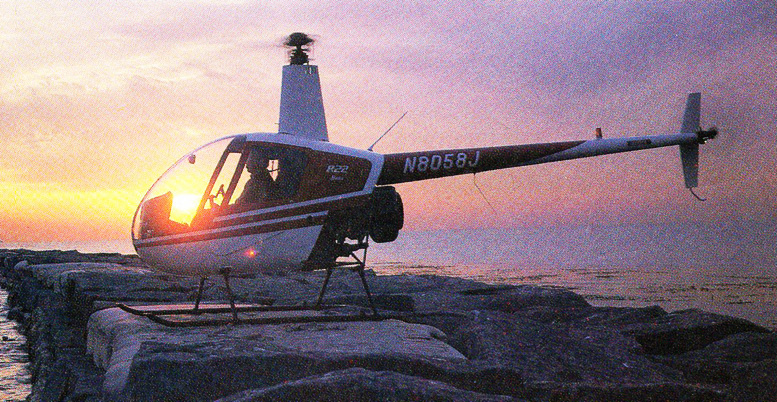 Frank Robinson R22 Helicopter design
