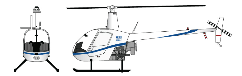 Helicopter Robinson R22 Beta