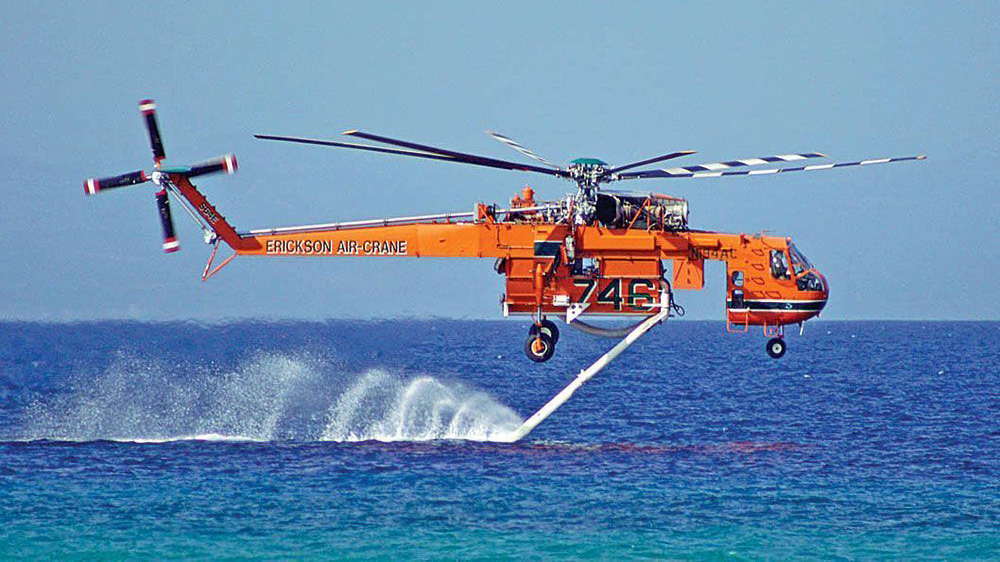 The Flying Bucket Brigade - Helicopter Firefighters