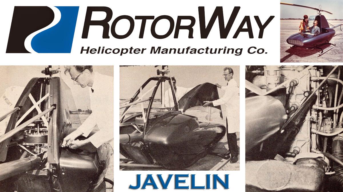 B.J. Schramm's Sleek Single Seat Javelin Helicopter
