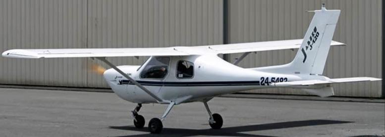 Oasis Jabiru ultralight plane