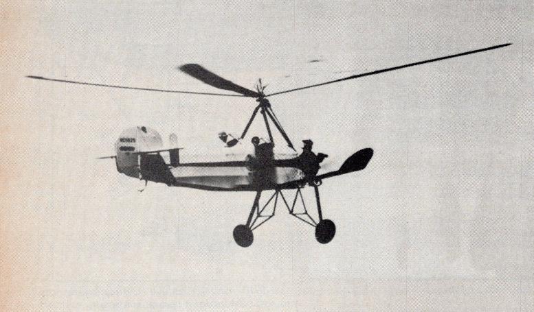Pitcairn Autogyro