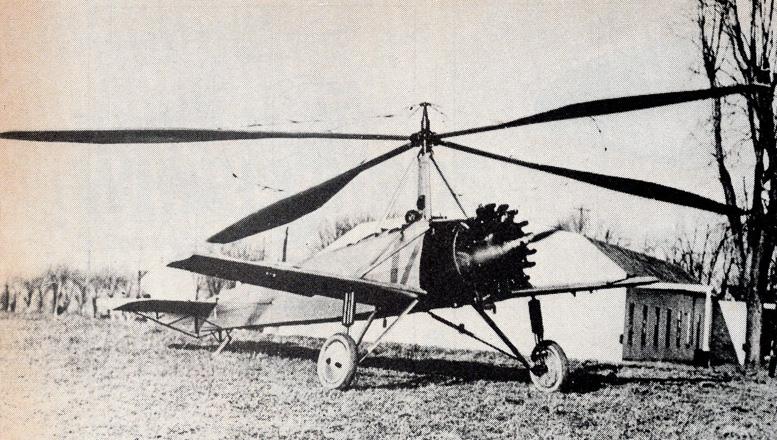 Pitcairn C 8 autogyro