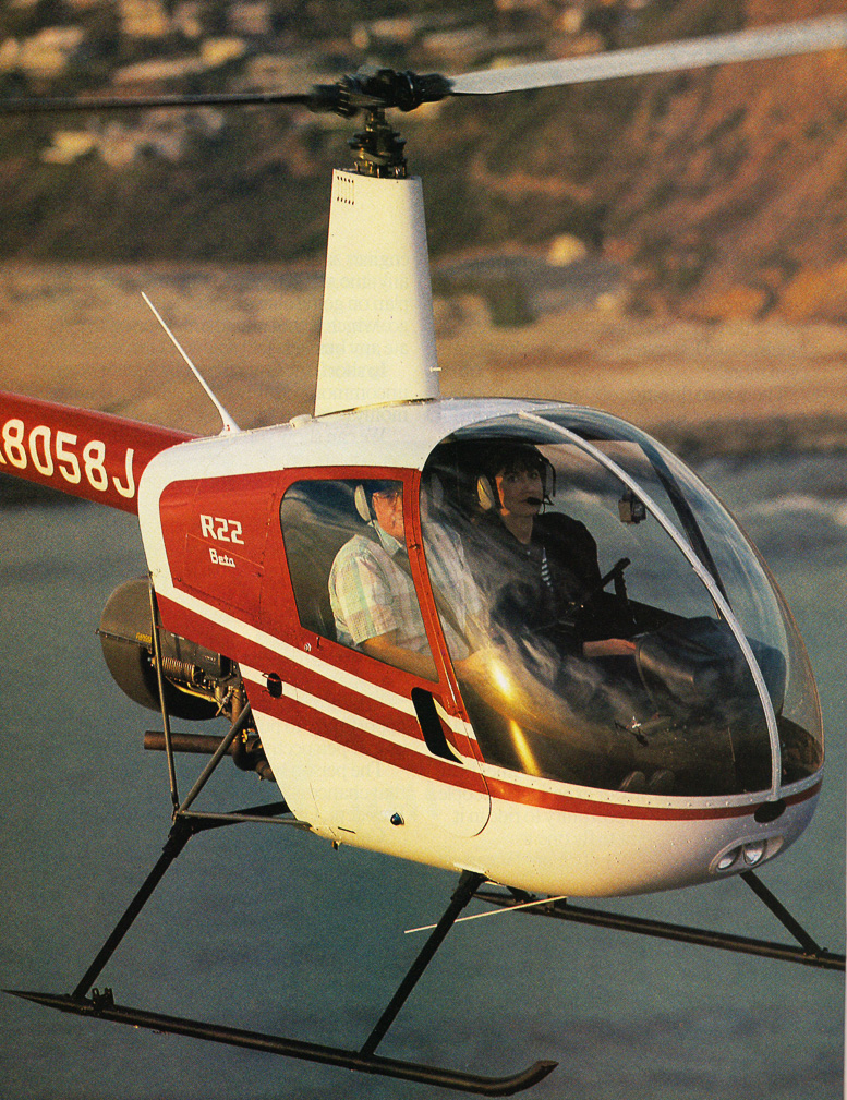 R22 Beta helicopter history