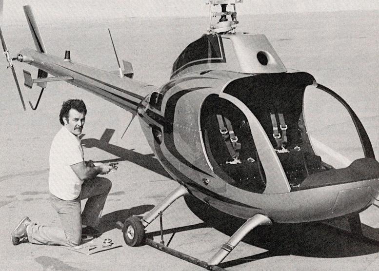 Ray Sebastian Rotorway Kit Helicopter