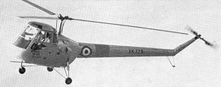 Saro Skeeter Mk6 Gypsy Major helicopter