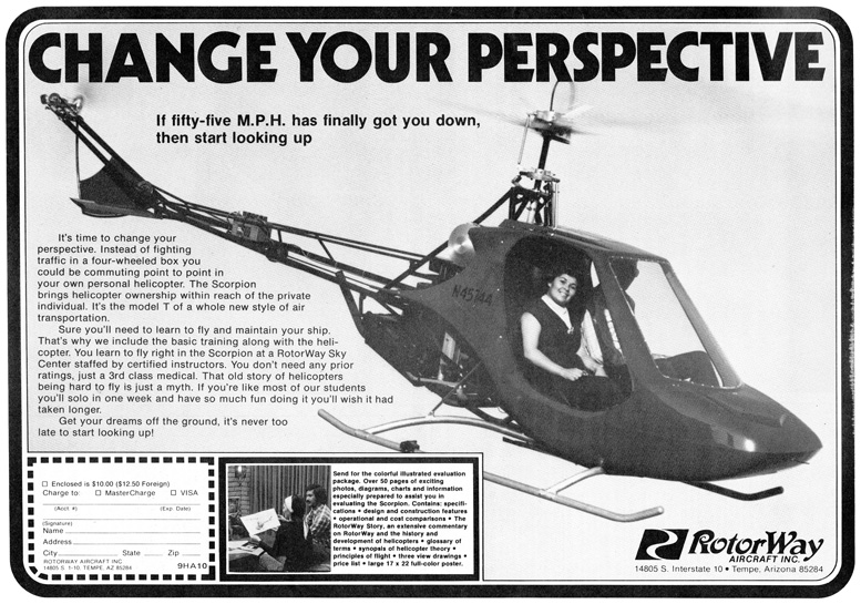 Scorpion 133 two seat kit helicopter
